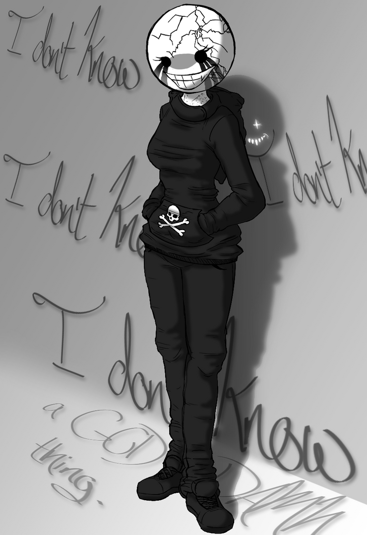 I don't know a GOD DAMN thing. by SavannaEGoth