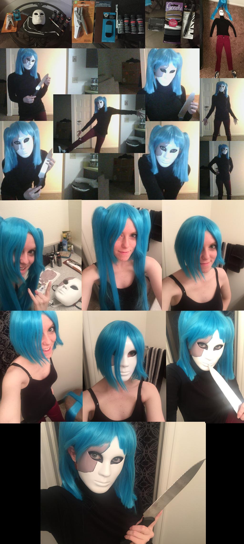 Sally Face Cosplay Photodump by SavannaEGoth