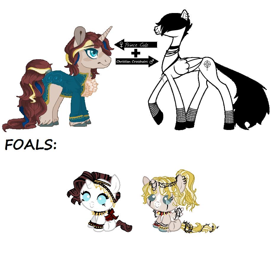 CC Foals for BloodRain83 - CLOSED by SavannaEGoth