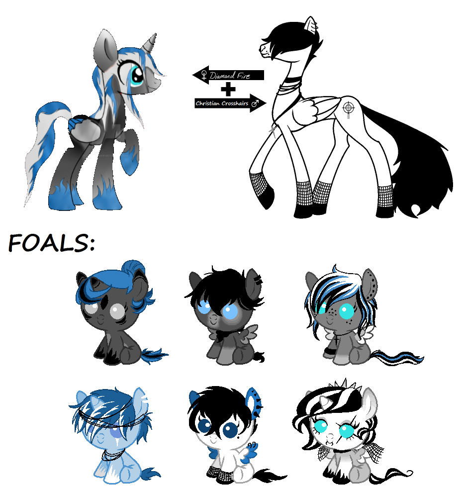 CC Foals for Takai-Yubikiri - CLOSED by SavannaEGoth