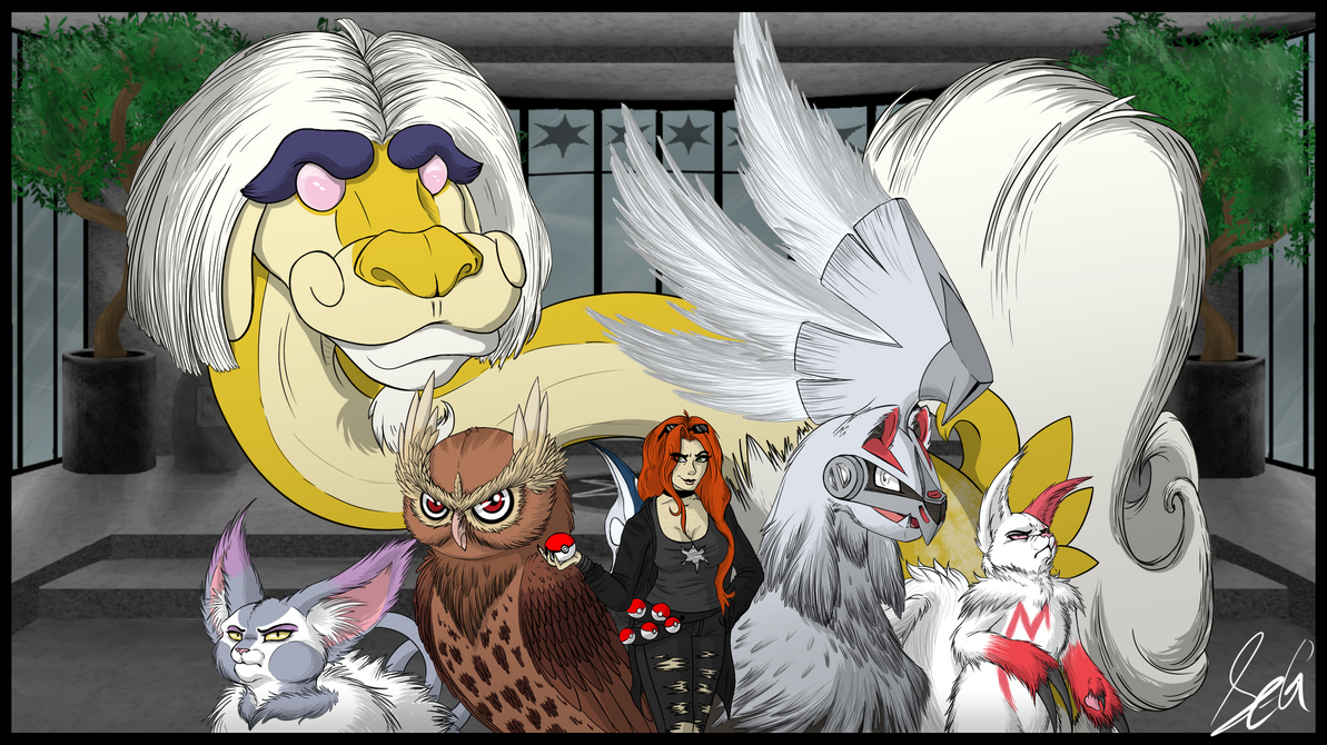 You are challenged by Elite Four Essy! by SavannaEGoth