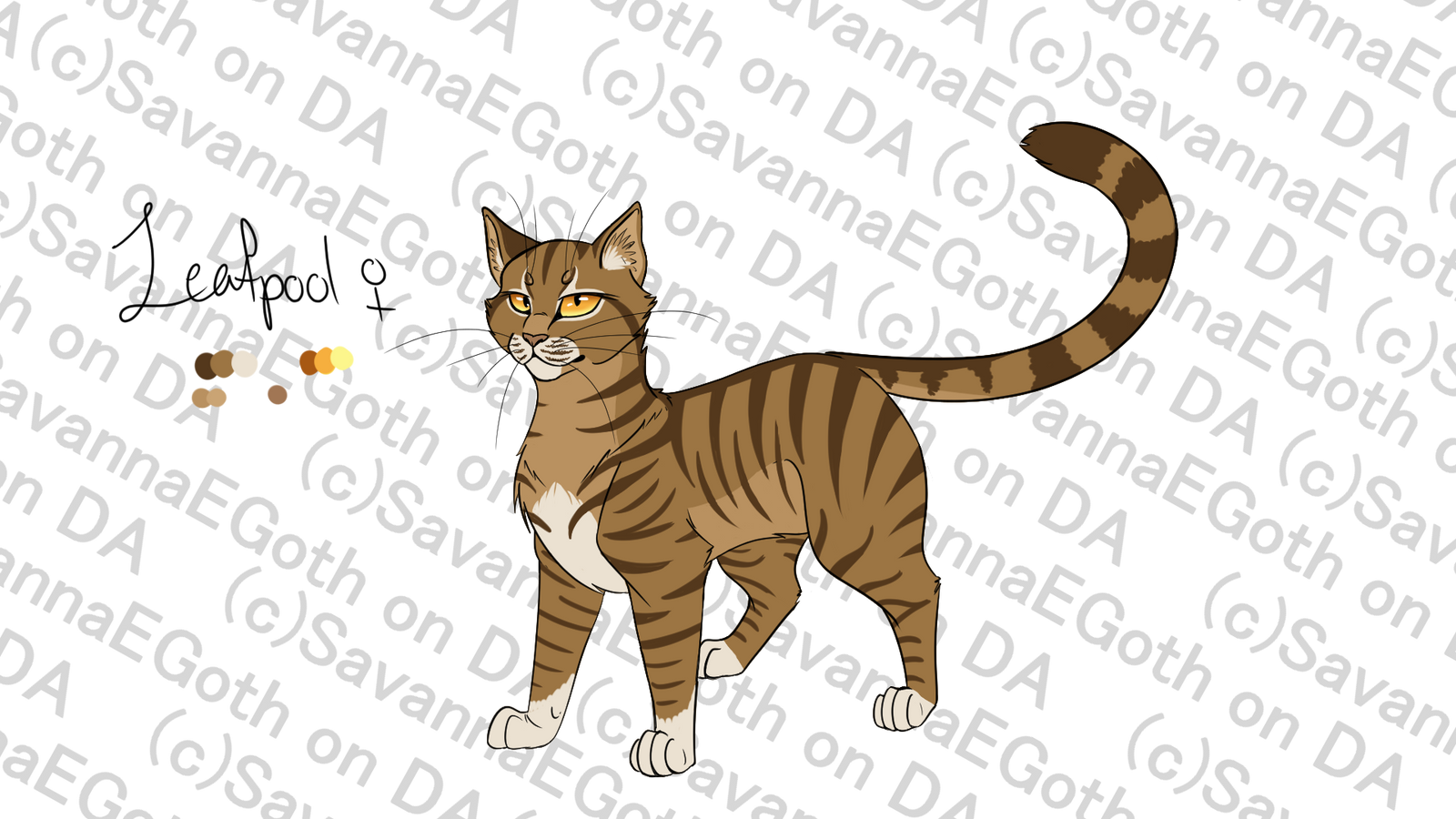 Leafpool Design Reference by SavannaEGoth