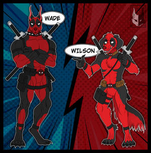 Deadpool Dogs - Wade and Wilson