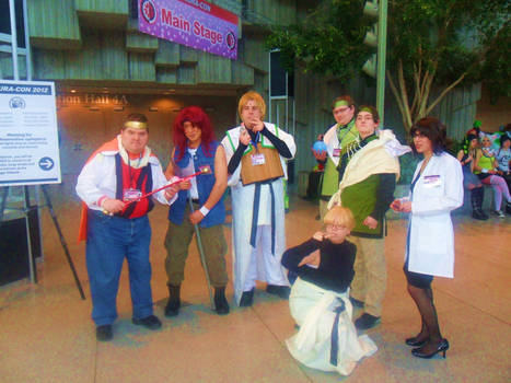 Saiyuki Photo Shoot 1 Saturday 2012
