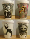 Spoopy Cup Doodles