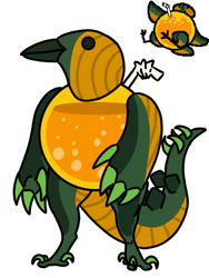 Cucurbita Reference by DRAGONLOVER101040