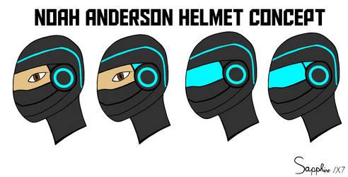 Noah Anderson Helmet concept by Sapphire1X7