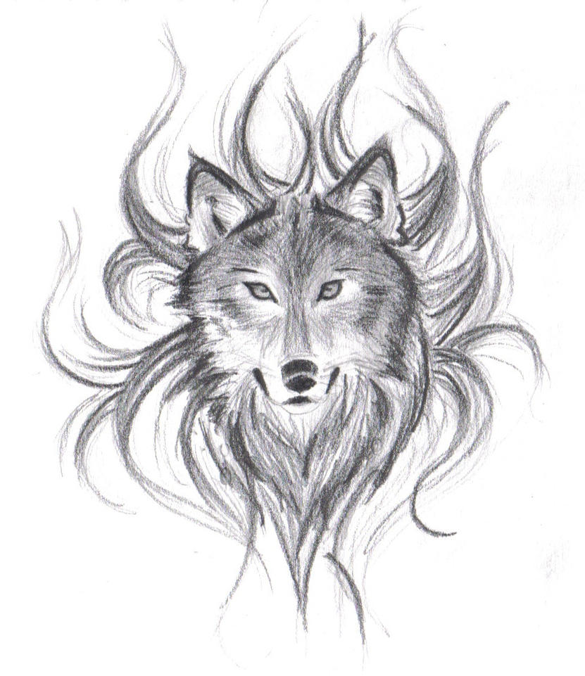 Wolf Drawings: Wolf's Face By Believennothing On DeviantArt