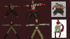 Street fighter  unuse concept art