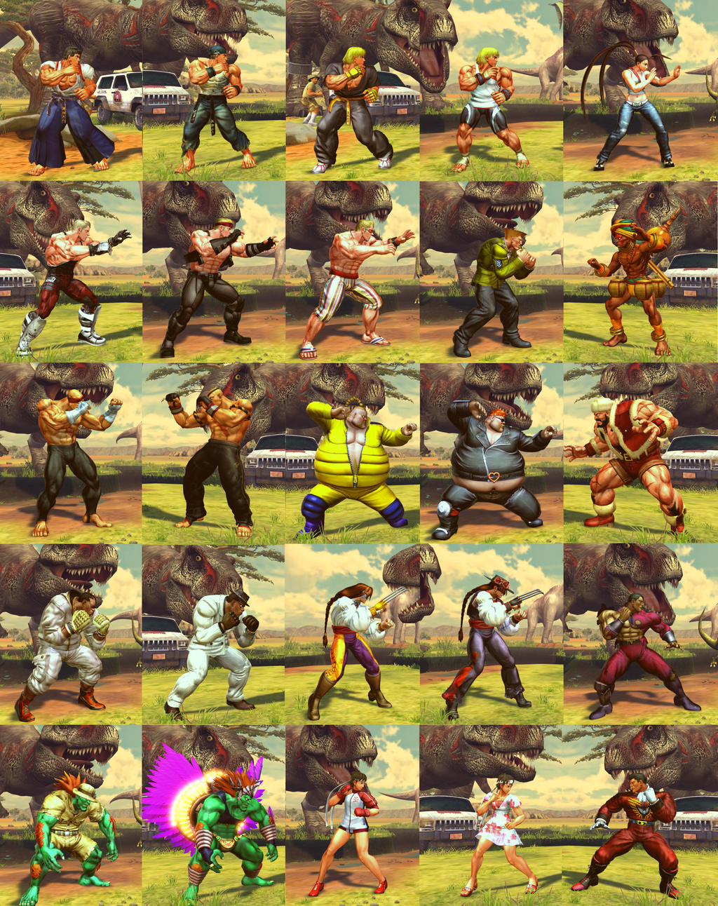 SF X TEKKEN Ultimate Porting Pack by monkeygigabuster