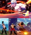 Street Fighter V Ken as DMC3  Dante