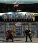 SFVAE stage Devil May Cry Shop