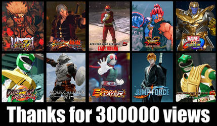 Thanks for 300000 views by monkeygigabuster