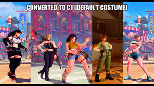 Some of my C1 conversion mods for SFVAE