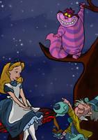 Alice in Wonderland by whiteypro