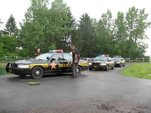 G C Damage Sheriff PatrolCars6
