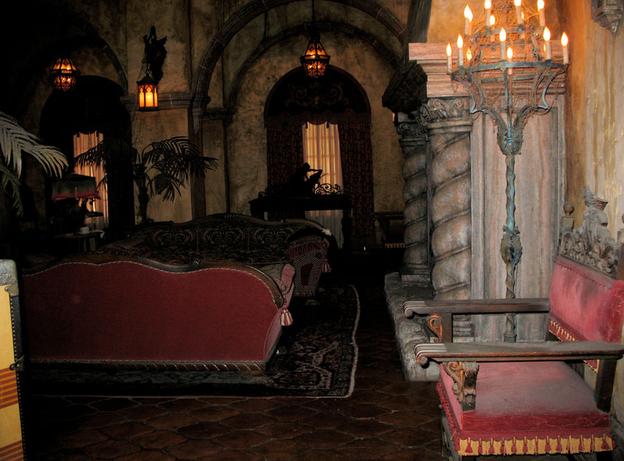 Tower of Terror Lobby 2 by WDWParksGal-Stock