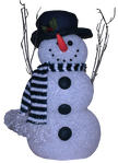 Snowman Background Removed