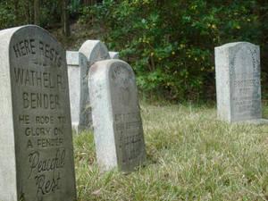 Tombstones HM Graveyard