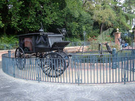 Hearse Haunted Mansion 1 by WDWParksGal-Stock