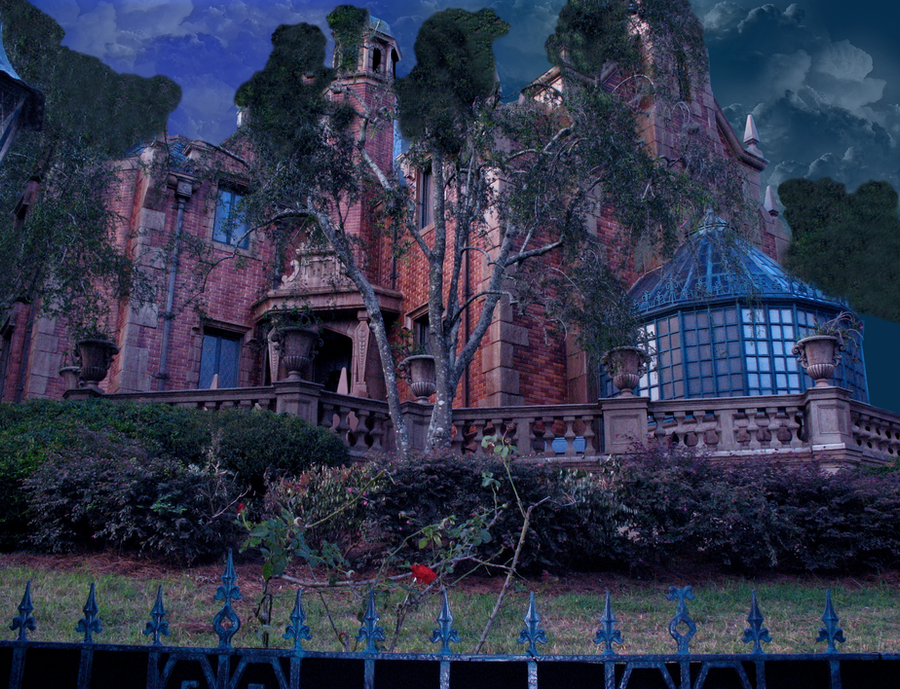 Haunted Mansion Room Design
