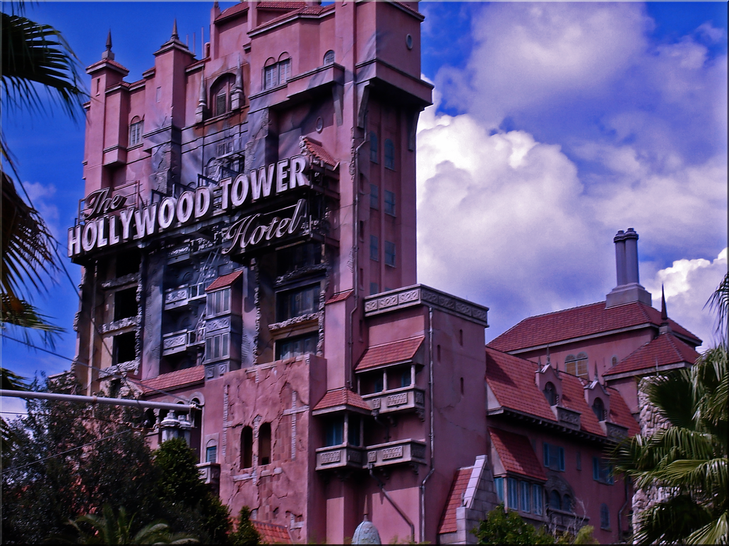 Tower of Terror Wallpaper by WDWParksGal-Stock