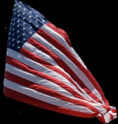 US Flag background removed