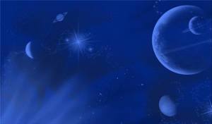 Planets and Stars Background