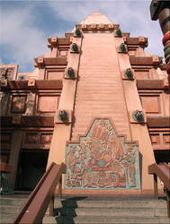 Aztec Temple EPCOT by WDWParksGal-Stock