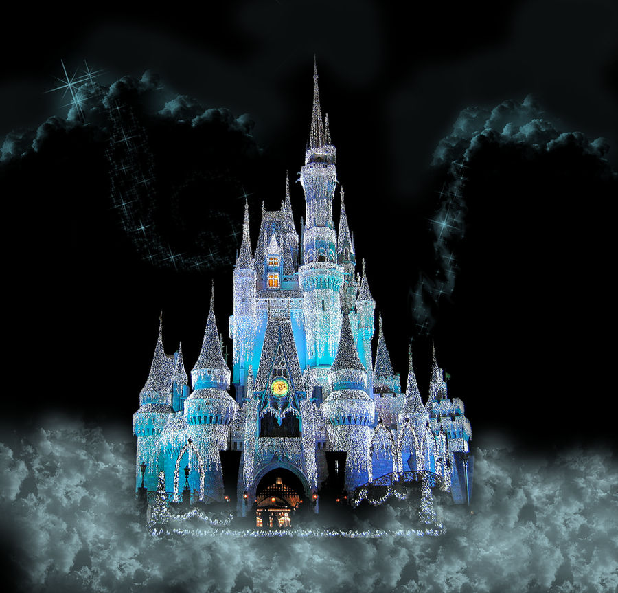 Castle Fantasy Background