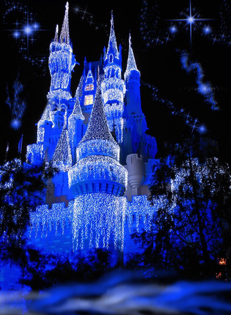 Картинка дворец снежной королевы анимация, настеньку