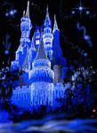 Castle Fantasy BKG 4 - blue