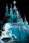 Castle Fantasy BKG 1 - teal
