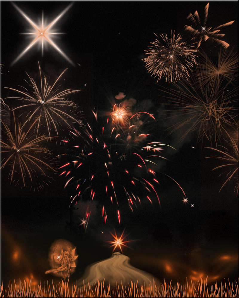 Canfield Fireworks Maniped 3 by WDWParksGal-Stock