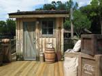 Tom Sawyer Island old Cabin