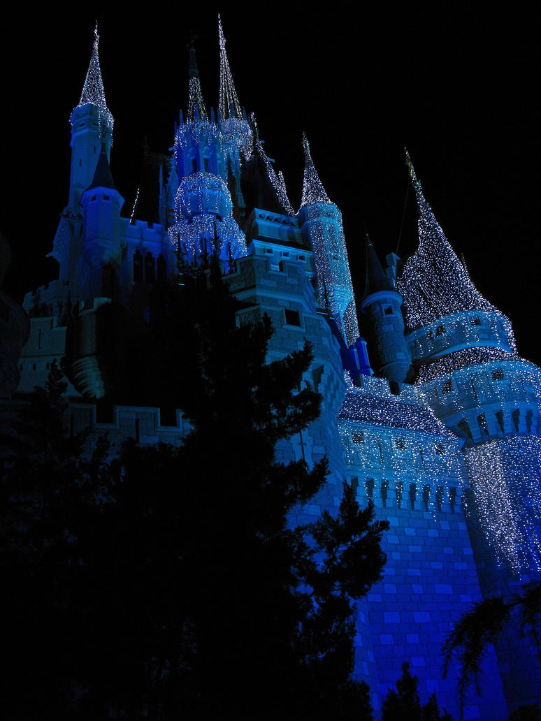 Gratuitous view of the castle by WDWParksGal-Stock