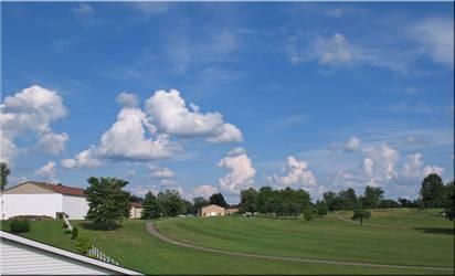 Pretty Clouds- the Golf Course