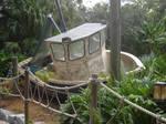 Typhoon Lagoon an old Boat