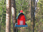 The Red Birdhouse