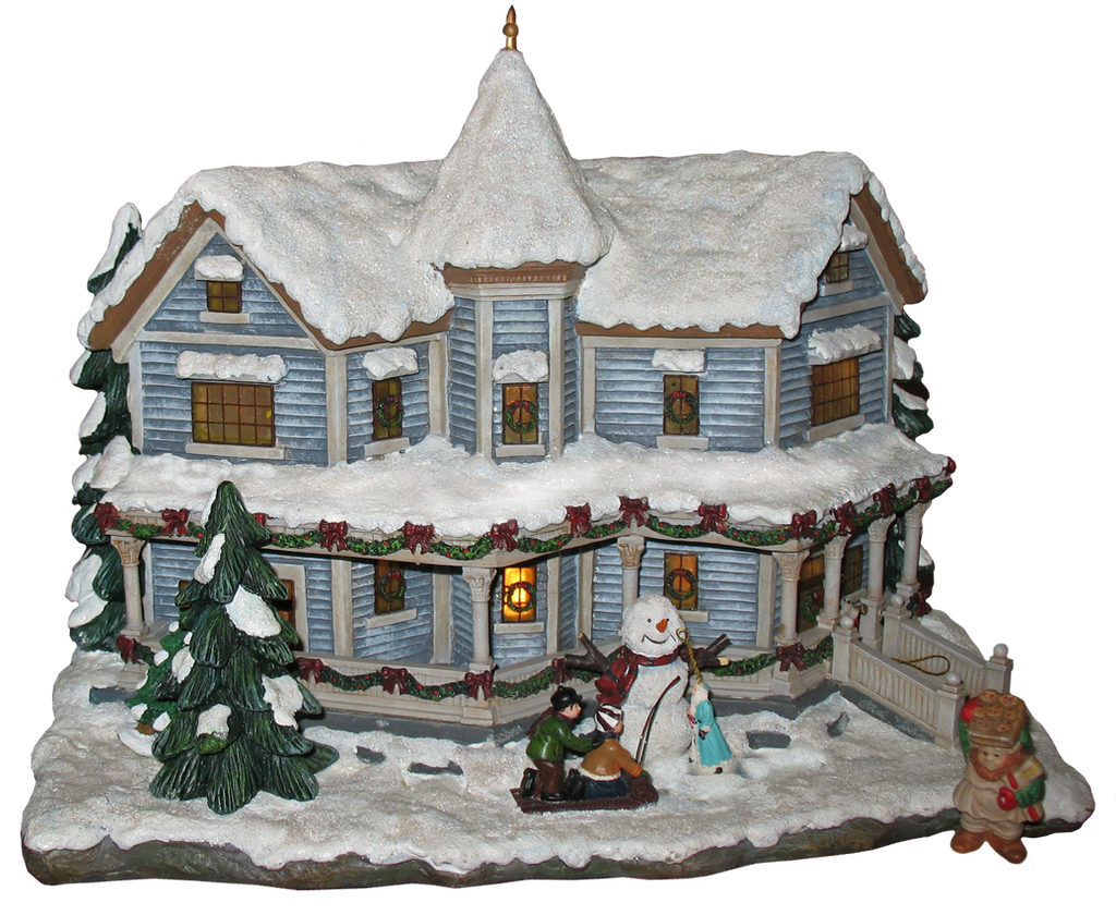 Christmas house by WDWParksGal-Stock