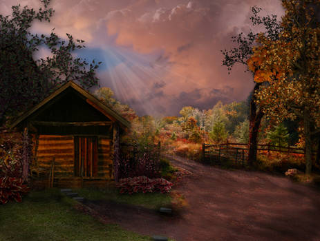 Last Ray of Light Before the Storm by WDWParksGal-Stock