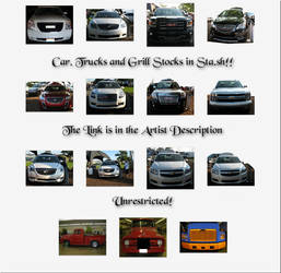 Car, Truck and Grill Preview Pane