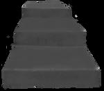 Cement Steps Clear-Cut