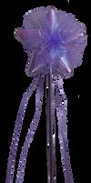 Fairy or Princess wand clear-cut