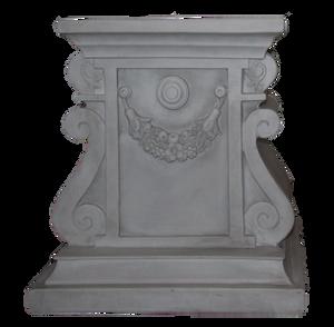 Greek Pedestal by WDWParksGal-Stock