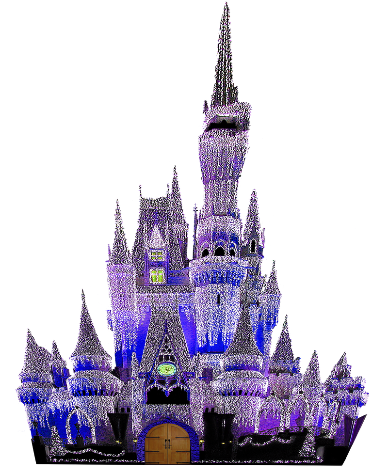Fairy Tale Fantasy Castle by WDWParksGal-Stock