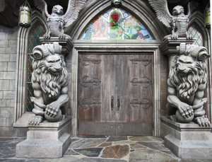 A Medival Front Door IMG 2710 by WDWParksGal-Stock