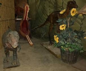 36 Jurassic Journey Exhibit IMG 1936 by WDWParksGal-Stock