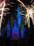 Once Upon a Time Castle Projection Show by WDWParksGal-Stock