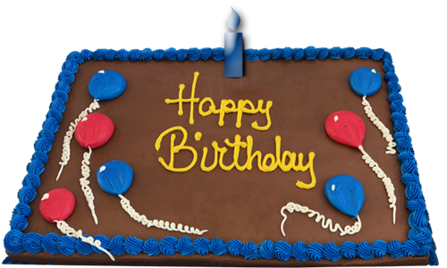 Happy Birthday Cake Graphic By WDWParksGal Stock